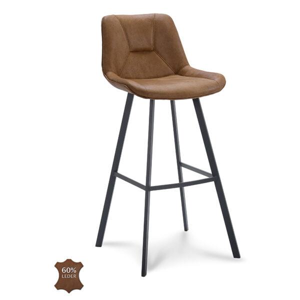 Happy Chairs - Barkruk Hugo Zithoogte 80 - Bull