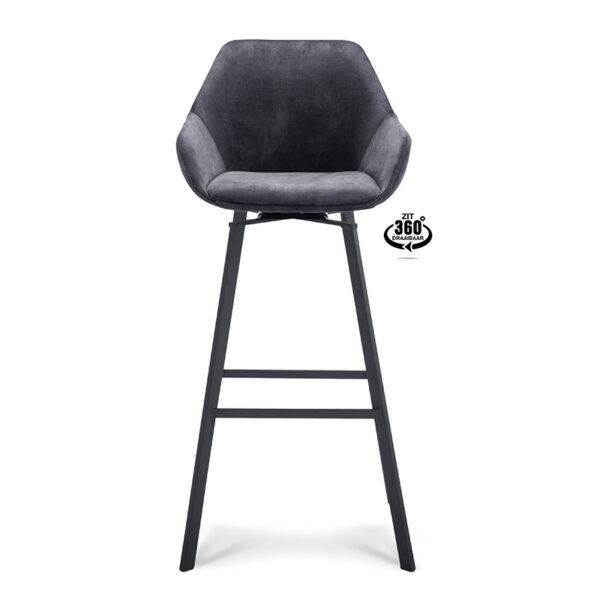 Happy Chairs - Barkruk Nacho ZH80 - Velvet
