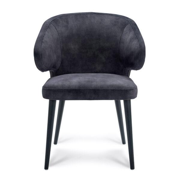 Happy Chairs - Armstoel Feliciano - Velvet Antraciet