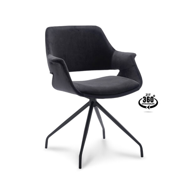 Happy Chairs - Armstoel Paulo - Velvet